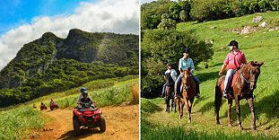 Horse Riding Excursion & Quad Biking - Full Day Package