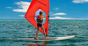 Windsurfing Beginners Lesson at Mont Choisy