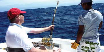 Deep Sea / Big Game Fishing in Mauritius