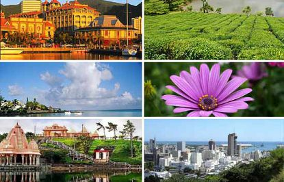 Mauritius cities and sights