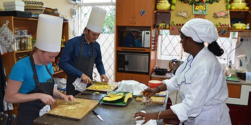 7- Course Lunch or Dinner at Chef's Table with Cooking Lesson