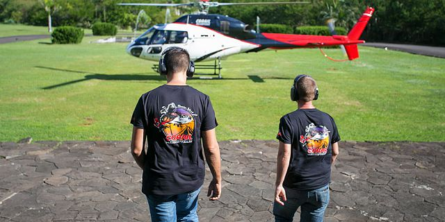 Group helicopter airport transfer (12)
