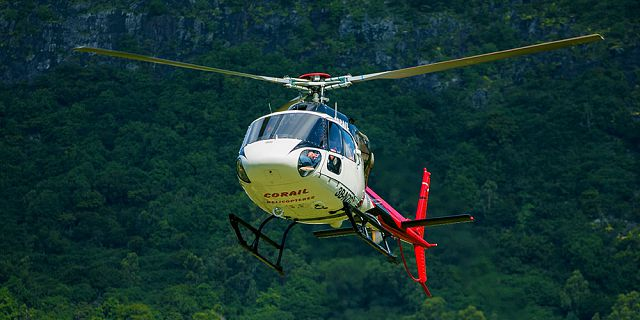 Group helicopter airport transfer (8)