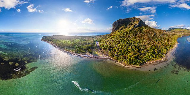 Helicopter aerial photography filming in mauritius (12)