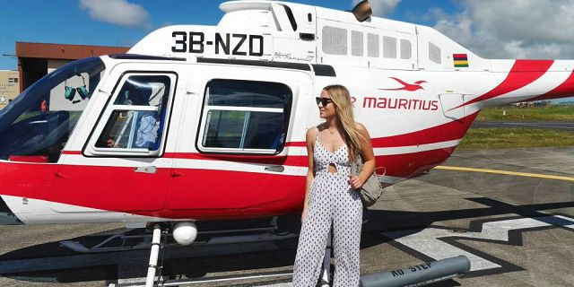 Helicopter aerial photography filming in mauritius (3)