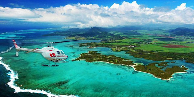 Helicopter aerial photography filming in mauritius (5)
