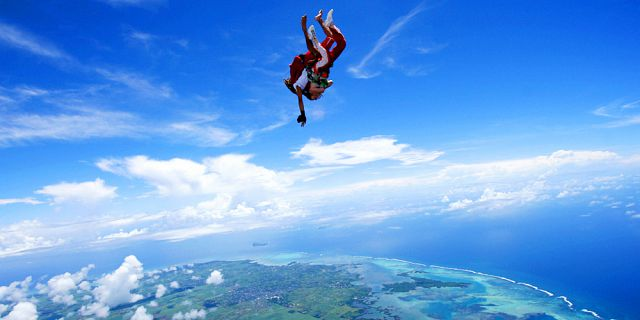 Mauritius Skydive - Tandem Skydiving - Mauritius Attractions