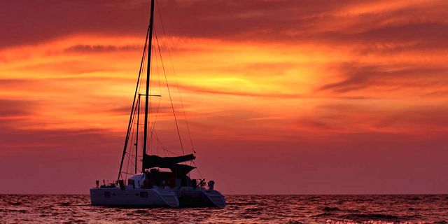 Sunset catamaran cruise north coast grand bay (7)