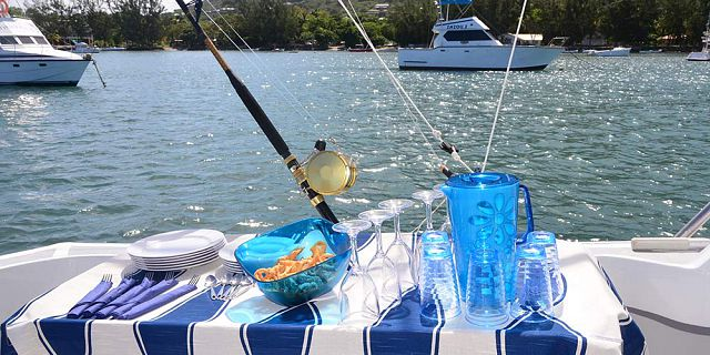 Shared the blue marine discovery quest mauritius for River fishing games