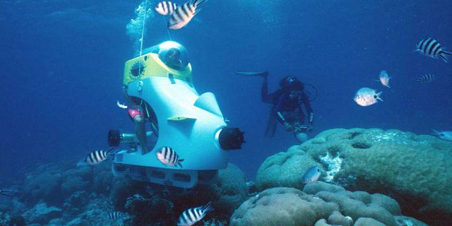 Underwater scooter in mauritius (2)