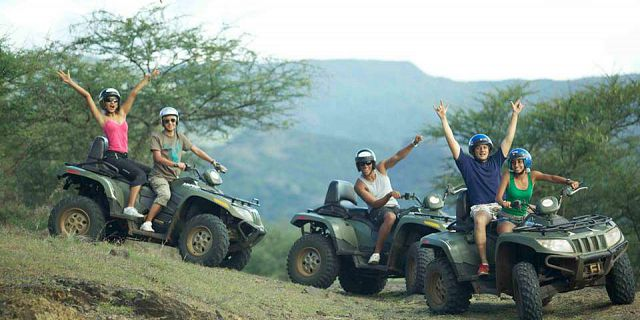 Safari animal nature quad mauritius