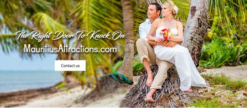 Mauritius Barefoot Beach Wedding